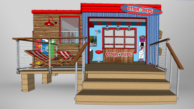 Concept To Creation Otter Pops Rendering