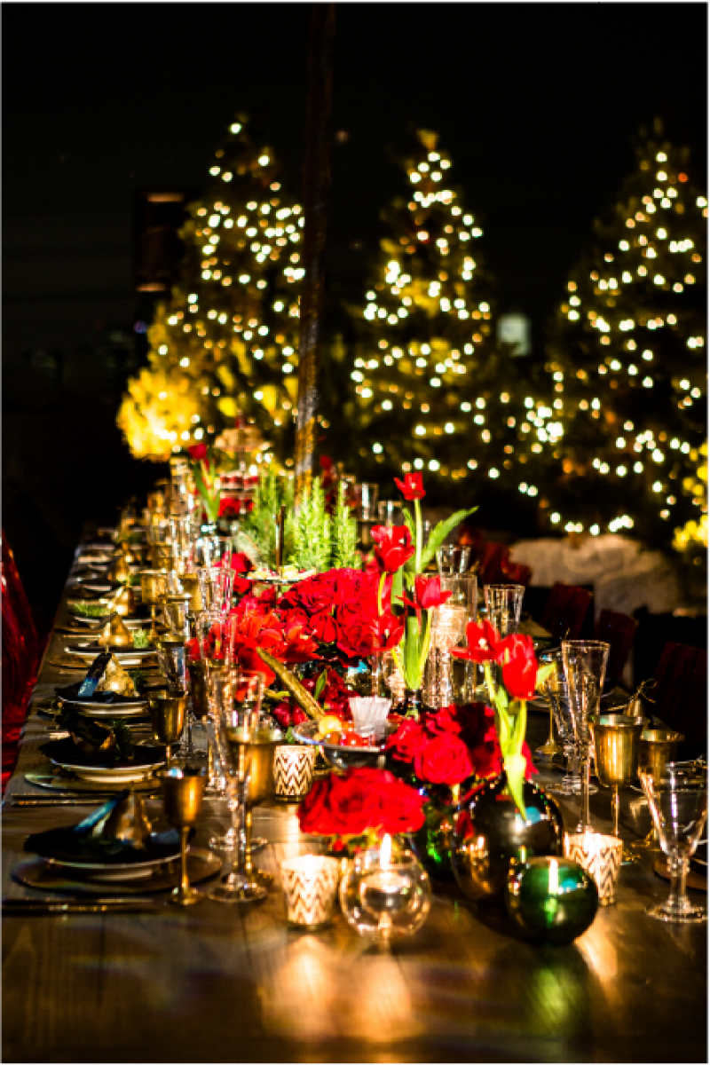 Event Floral Design Christmas Trees