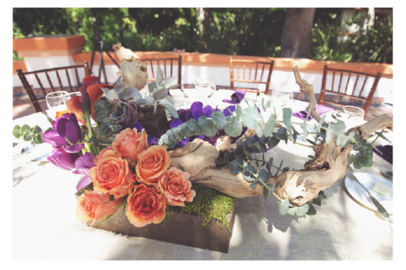 Event Floral Design Drift Wood
