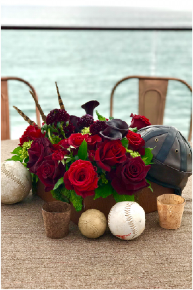 Event Floral Design Jocky Hat Roses