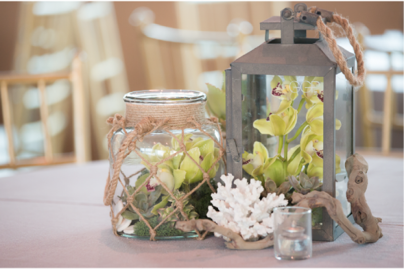Event Floral Design Nautical Lantern