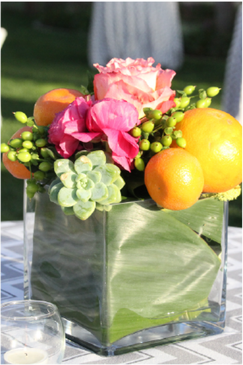 Event Floral Design Oranges