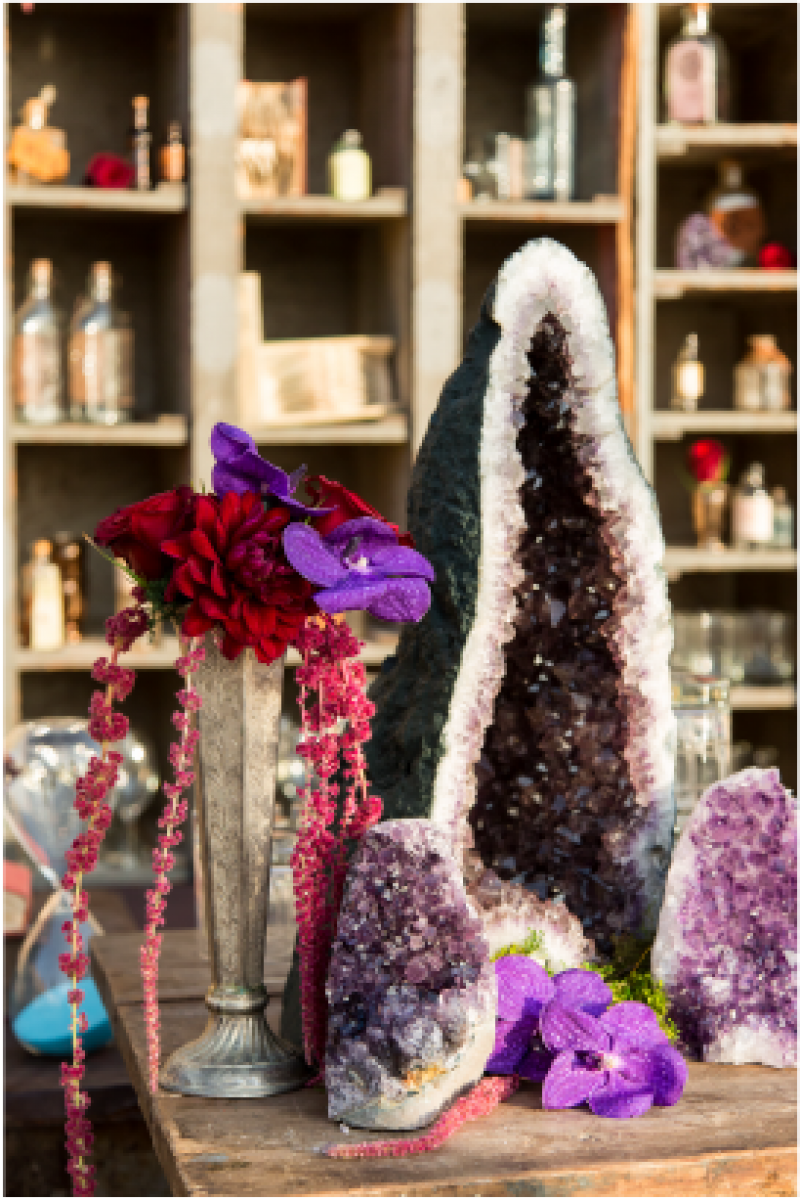 Event Floral Design Purple Quartz