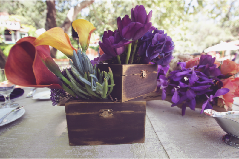 Event Floral Design Treasure Chests