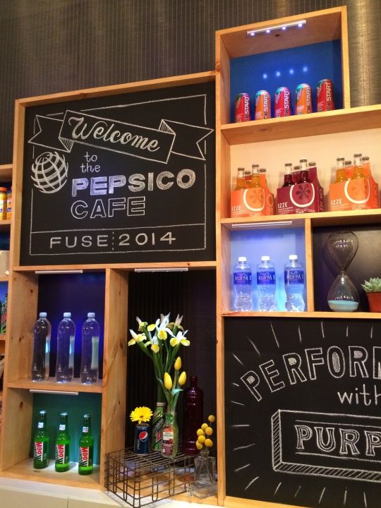 Pepsico Cafe Fuse Design Conference Zoe Productions 14