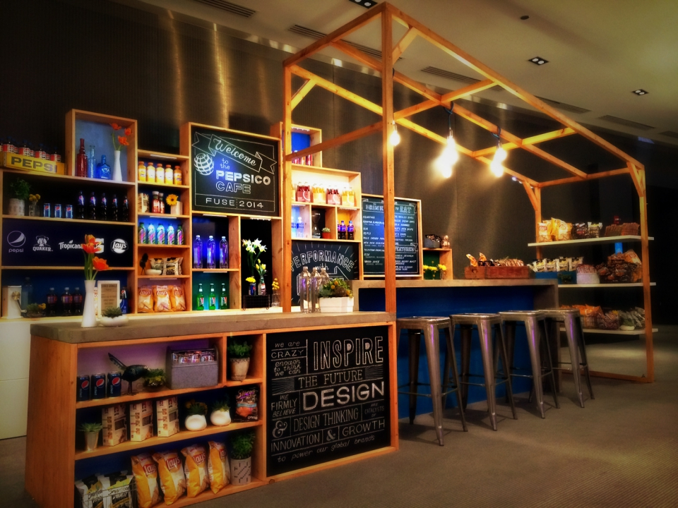 Pepsico Cafe Fuse Design Conference Zoe Productions 4