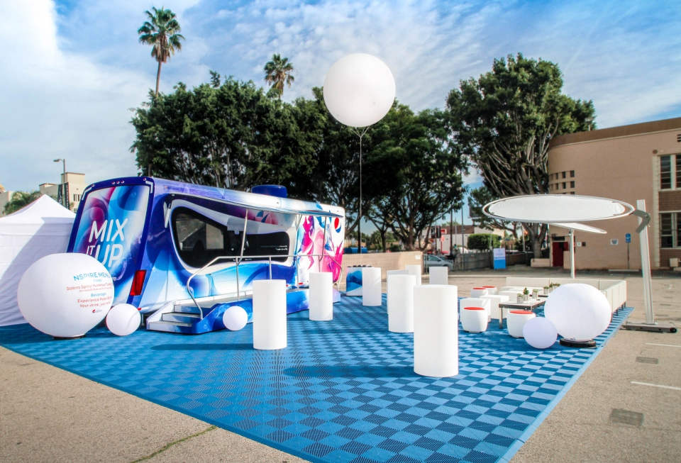 Pepsico Nspire Activation 1